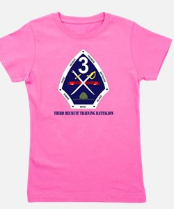 Third Recruit Training Battalion with T Girl's Tee