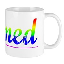 Ahmed, Rainbow, Small Mug