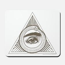 Hemlock Grove Eye Ouroboros Mousepad