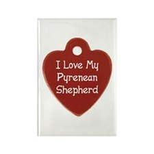 Love My Pyrenean Rectangle Magnet (100 pack)