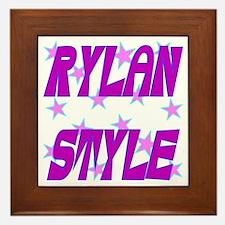 Rylan Style Framed Tile