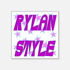 "Rylan Style Square Sticker 3"" x 3"""