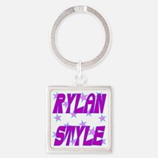 Rylan Style Square Keychain