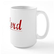Clifford, Vintage Red Mug