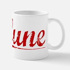 Clune, Vintage Red Mug