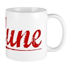 Clune, Vintage Red Small Mug