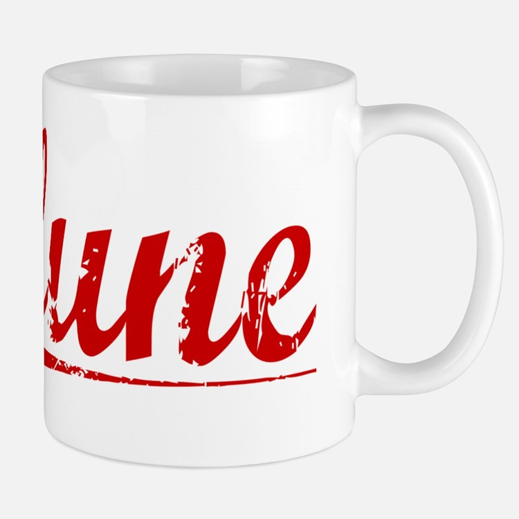 Clune, Vintage Red Small Small Mug