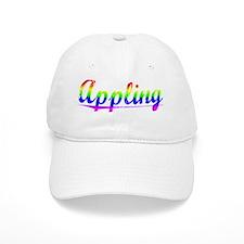 Appling, Rainbow, Baseball Cap