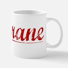 Cochrane, Vintage Red Small Small Mug