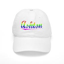Ashton, Rainbow, Baseball Cap