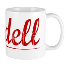 Cordell, Vintage Red Mug