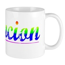 Asuncion, Rainbow, Small Mug