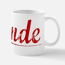 Conde, Vintage Red Mug