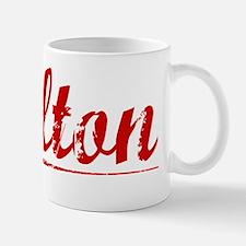 Colton, Vintage Red Mug