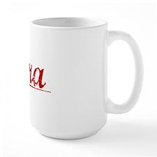 Cora, Vintage Red Mug