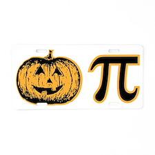 Pumpkin pie. Aluminum License Plate