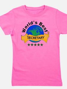 secretary Girl's Tee