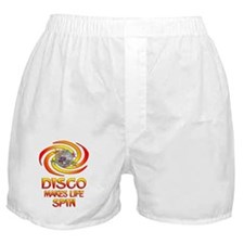 Disco Spins Boxer Shorts