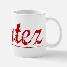 Cortez, Vintage Red Mug