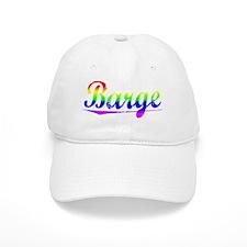 Barge, Rainbow, Baseball Cap