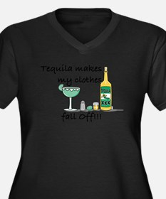 Clothes fall off Plus Size T-Shirt