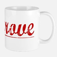 Cosgrove, Vintage Red Mug