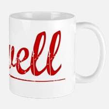 Cowell, Vintage Red Mug