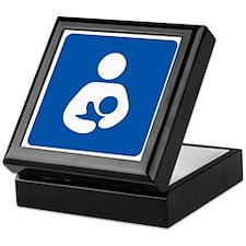 Breastfeeding Icon-High Quality Keepsake Box