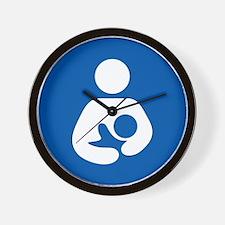 Breastfeeding Icon-High Quality Wall Clock