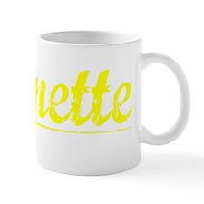 Burnette, Yellow Mug