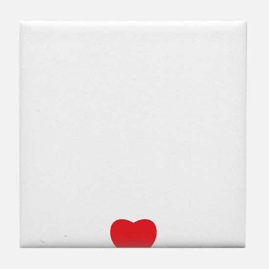 love u Tile Coaster
