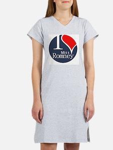 I Heart Romney Women's Nightshirt