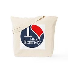 I Heart Romney Tote Bag