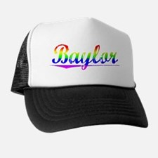 Baylor, Rainbow, Trucker Hat
