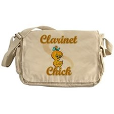 Clarinet Chick #2 Messenger Bag