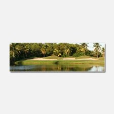 Hole 12 at Crandon Park Golf Cou Car Magnet 10 x 3