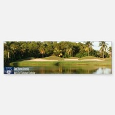 Hole 12 at Crandon Park Golf Cour Bumper Bumper Sticker