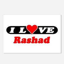 I Love Rashad Postcards (Package of 8)