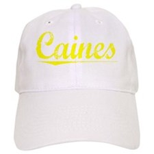 Caines, Yellow Baseball Cap