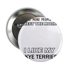 "Skye Terrier Designs 2.25"" Button"