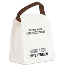 Skye Terrier Designs Canvas Lunch Bag