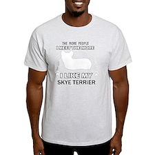 Skye Terrier Designs T-Shirt