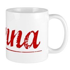 Danna, Vintage Red Small Mug