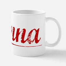 Danna, Vintage Red Small Small Mug