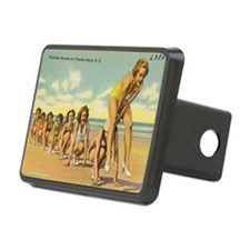 Vintage Beach Leap Frog Th Hitch Cover