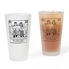 Lap Dogs Drinking Glass