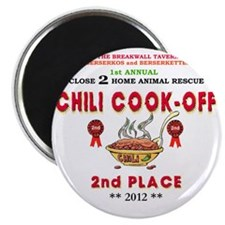 CHILI COOK-OFF 2nd PLACE PRIZE Magnet