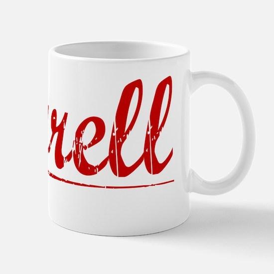 Darrell, Vintage Red Mug