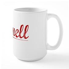Darnell, Vintage Red Mug