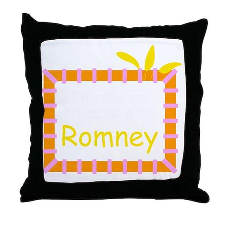 Ill take my chances... Throw Pillow